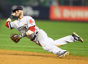 Pedroia has been Boston's second baseman since August 2006.