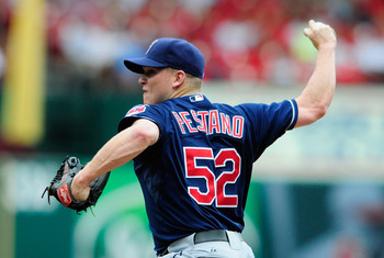 Vinnie Pestano is a potential closer.