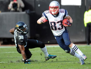 Wes Welker was the Patriots' best offensive player on Sunday.