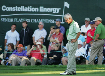 Ben Crenshaw's putting stroke is still silky smooth.
