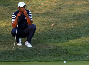 Tiger Woods will need to start making clutch putts if he's going to win majors again.