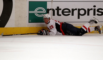 Alex Semin had come to the end of the line in Washington.