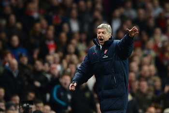 Arsene Wenger is on course to reach the Champions League again