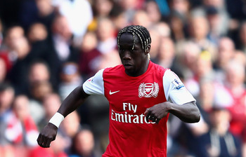 Sagna's goal helped propel Arsenal to third