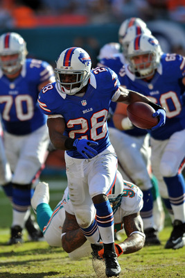 Bills gave C.J. Spiller plenty of touches in Week 16.