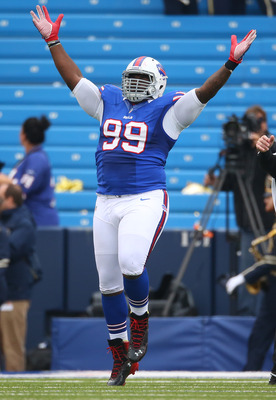 Marcel Dareus turned in his best game of the season today.
