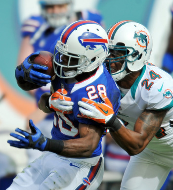 C.J. Spiller picked up 173 yards of total offense today.