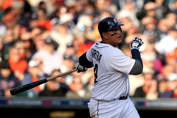 Triple Crown winner Miguel Cabrera looks to lead his Tigers back to the World Series.