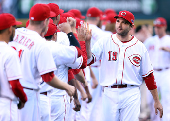 Joey Votto and the Reds should cruise through NL Central competition.