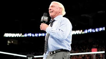 Ric Flair makes his shocking return to WWE. (Courtesy of WWE.com)