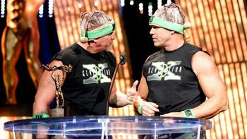 The New Age Outlaws make their return on Raw. (Courtesy of WWE.com)