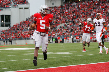 Braxton Miller returns after setting the school record for single season all-purpose yards in 2012.