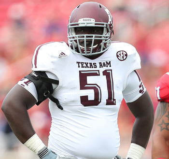A&M OG Jarvis Harrison