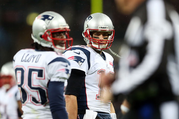 Brandon Lloyd found his connection with Tom Brady during the second half of Sunday's win.