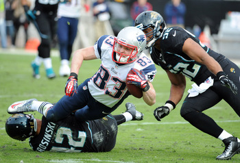 Welker worked hard for every inch versus the Jaguars.
