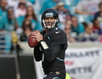 For most of the afternoon, Chad Henne had plenty of time to throw.