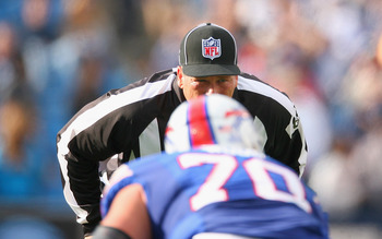 The referees had some maddening calls against the Bills.