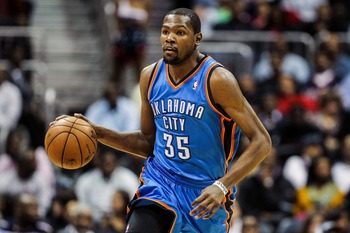 Kevin Durant is one of the best scorers in the NBA and the centerpiece of the Thunder