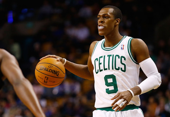 Rajon Rondo has taken over the reins of the Boston Celtics from Kevin Garnett and Paul Pierce