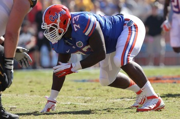 Sharrif Floyd is the Gators' best defensive lineman.
