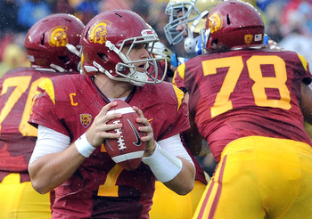 Matt Barkley's stock has taken a hit, but Baltimore can't pass up on his talent at pick 26.