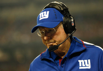 HC Tom Coughlin's team has underperformed as of late.