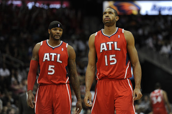 The dynamic frontcourt of Josh Smith and Al Horford has Atlanta defying expectations.