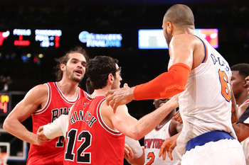 Joakim Noah has plenty of fight to lead the Chicago Bulls without Derrick Rose.