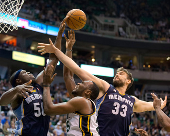 Zach Randolph and Marc Gasol create one of the league's best frontcourts.