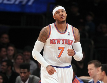 Carmelo Anthony has New York thinking title.