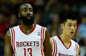 As good as they are individually, Harden and Lin have yet to bring out the best in each other.