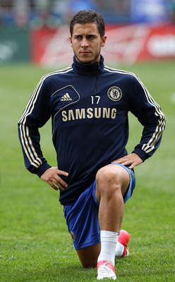 Eden Hazard chose to sign for the European Champions after a long courtship involving several other clubs.