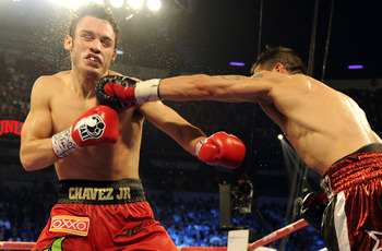 Chavez was outclassed by Martinez.