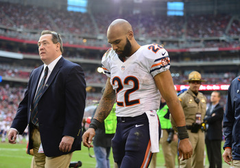 Matt Forte, running back for the Chicago Bears.