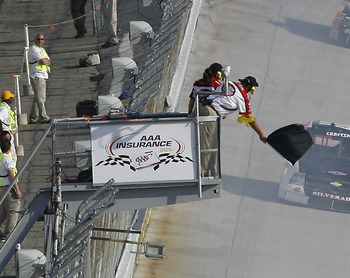 If NASCAR is going to penalize anyone, it should make the black flagging consistent.
