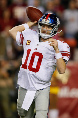 Does the good Eli show up this Sunday?