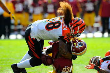Linebacker Rey Maualuga leads the Bengals in tackles with 112.