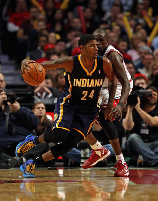 Paul George is beginning to come into his own as the Indiana Pacers' leading man.