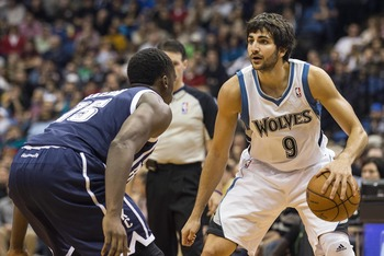 Ricky Rubio's recent return to the Timberwolves lineup will drastically improve Minnesota's odds of making playoffs this season.