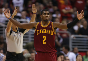 Second-year point guard Kyrie Irving provides hope for a downtrodden Cleveland fanbase.