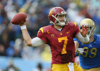 Matt Barkley will likely be one of the top quarterbacks drafted, and the Buffalo Bills are a likely destination.