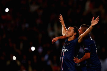 Ibrahimovic's goal tally in Ligue 1 thus far is phenomenal