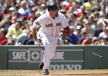 Youkilis was a Red Sox fan favorite before signing with the Yankees
