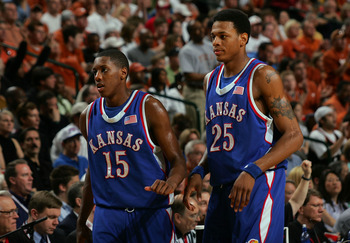 Chalmers and Rush led Kansas to the 2008 national title.