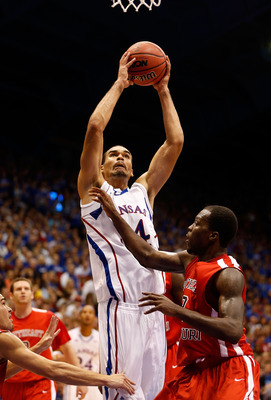 Freshman Perry Ellis has seen a limited bench role.