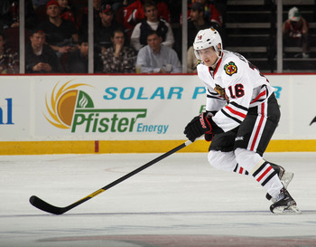Marcus Kruger has had his fair share of problems filling in as the second-line center.