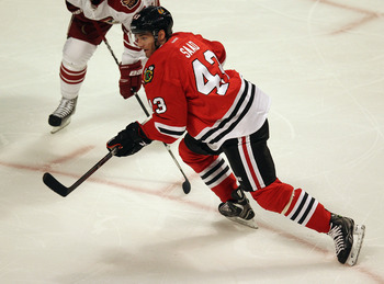 Brandon Saad will likely get his shot to stay with the Blackhawks this upcoming season.