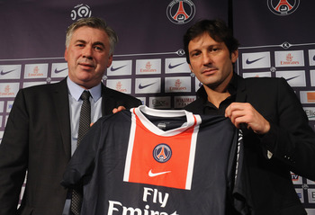 Leonardo welcomes Ancelotti to PSG after harshly firing Kombouare