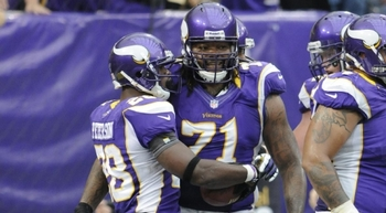 Loadholt has been a key cog in Adrian Peterson's remarkable return from injury. (AP)
