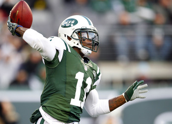 Wide receiver Jeremy Kerley has more passing yards for the Jets than QB Tim Tebow.
